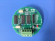 An internal PCB Termination Board with a Multiplier used when a speed sensor requires a higher than standard pulse per revolution
