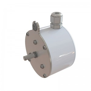 A Digital Shaft Encoder or Speed Sensor  used for belt speed measurement of weigh belts  or weigh conveyors and feeders