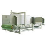 Special application weigh belt feeder for recycling
