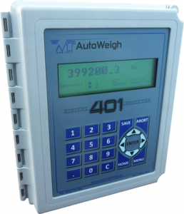 A model 401 level indicator suitable for all types of load cell weighing
